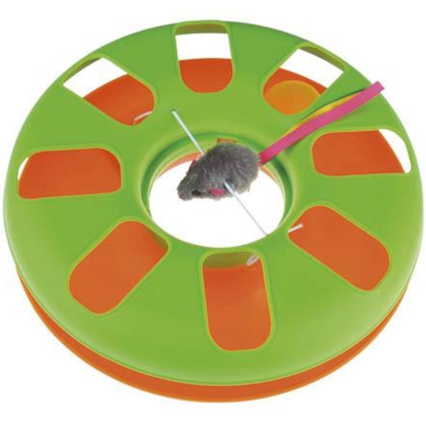 Interaktivní hračka - hrací kruh s myší D25x8cm