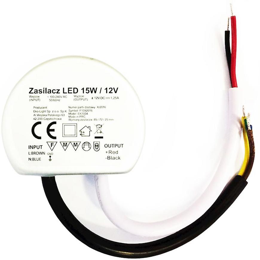 Transformátor LED 15W IP65