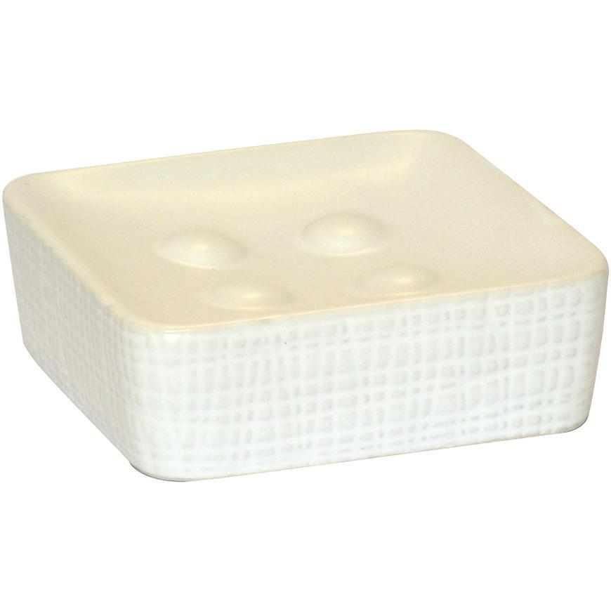 Krabička na mýdlo notus bílá