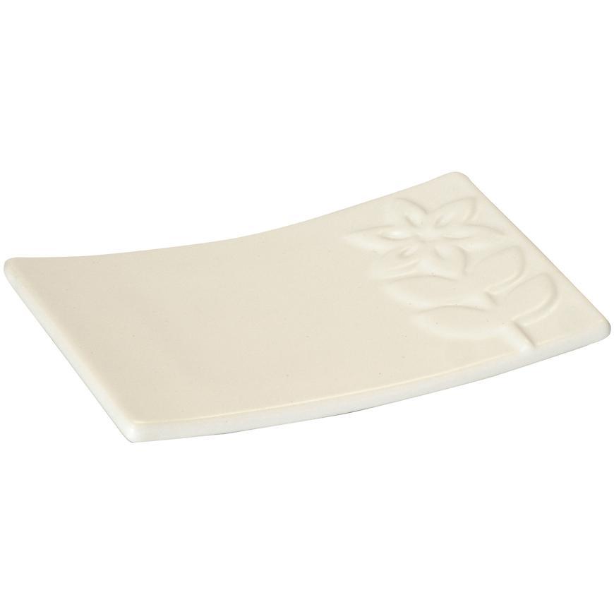 Krabička na mýdlo selena bílá