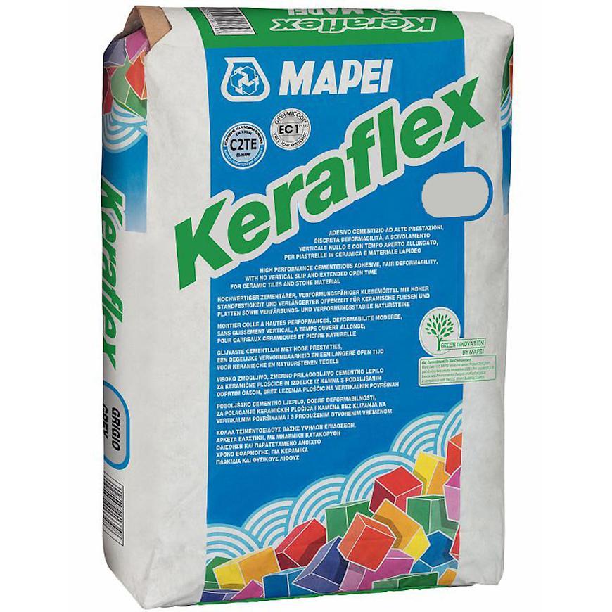 Flexibilní lepidlo na obklady a dlažbu Keraflex 25 kg