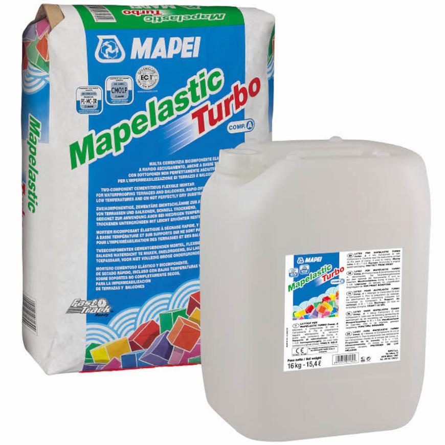 Hydroizolační stěrka Mapelastic Trubo (36) /B 16 kg