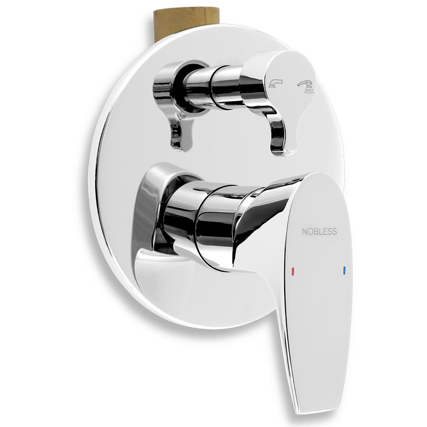 Baterie sprchová/vanová podomítková NOBLESS WAT  39050R,0