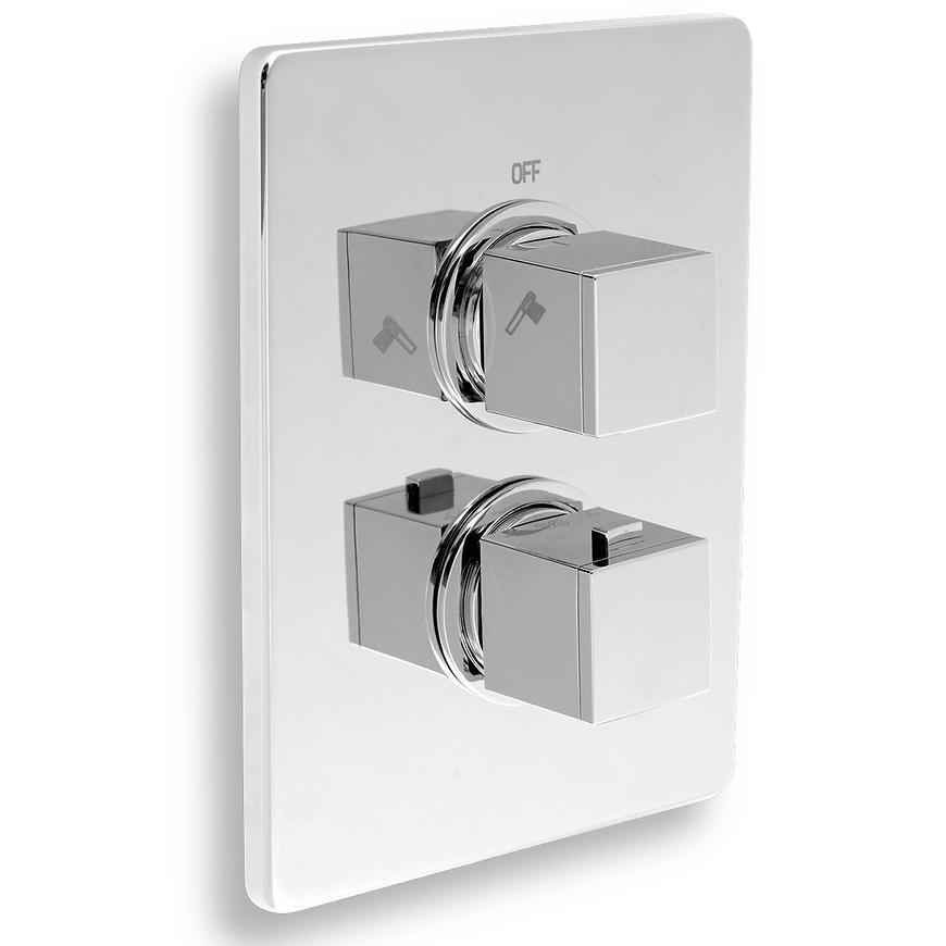 Baterie sprchová termostatická podomítková AQUASAVE 2850R,0