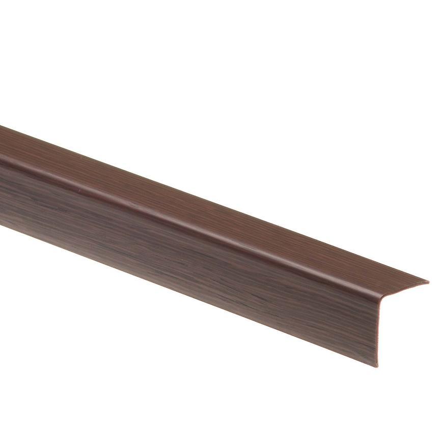 Uhelnik 20x20 wenge 127 dł.2,75m