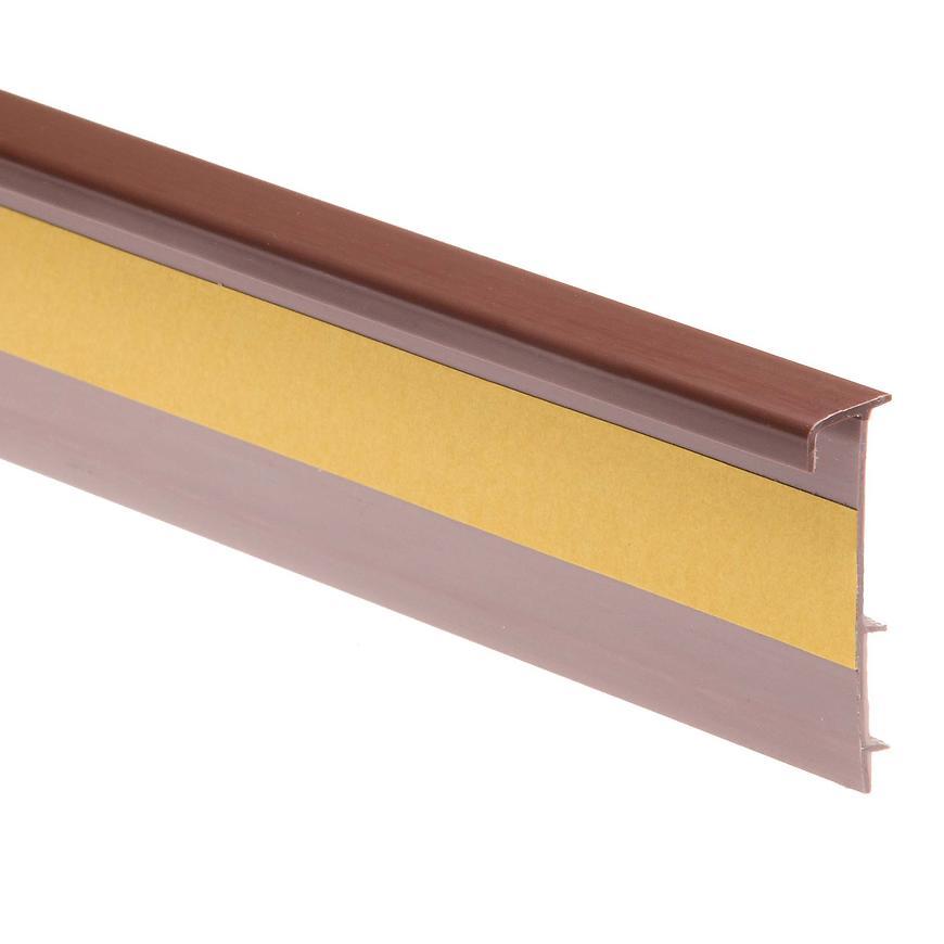 Podlahová lišta - dwo 110 hnědý