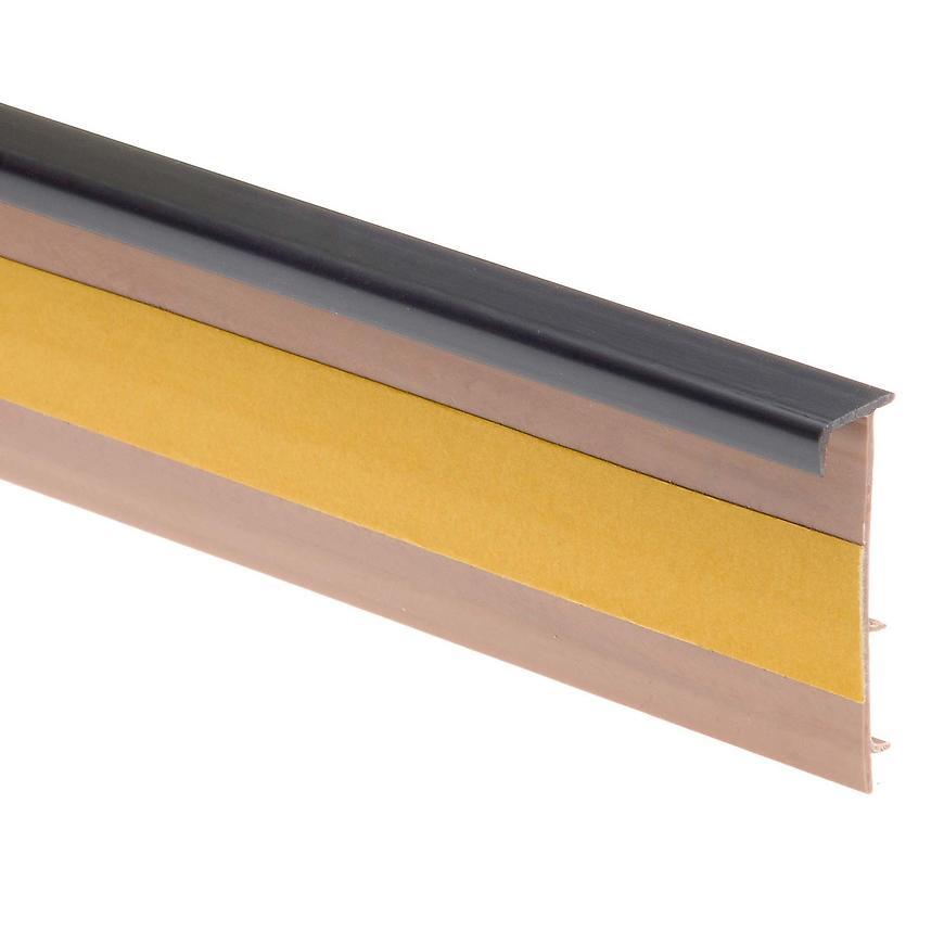 Podlahová lišta – dwo 123 grafit