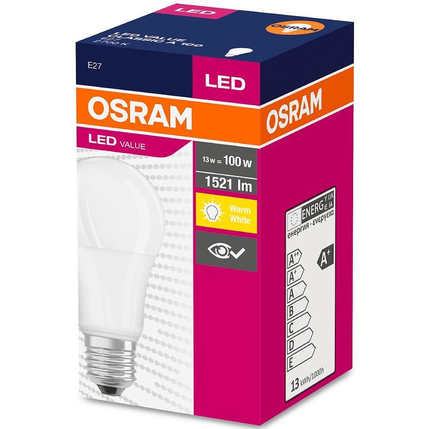 Žárovka LED 14,5W/827 E27 Value Cl A 100 Fr