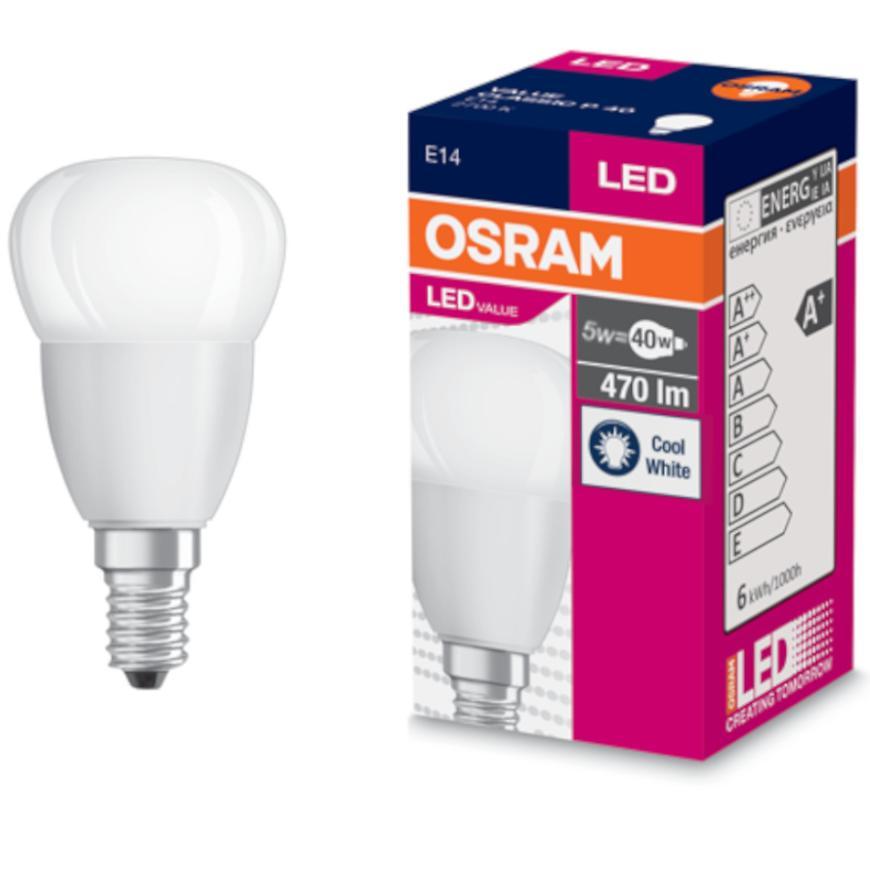 Žárovka LED 5W/840 E14 Value Cl P 40 Fr