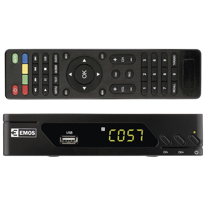 Prijmace Tv Signalu Dvb-T/Dvb-T2 J6009