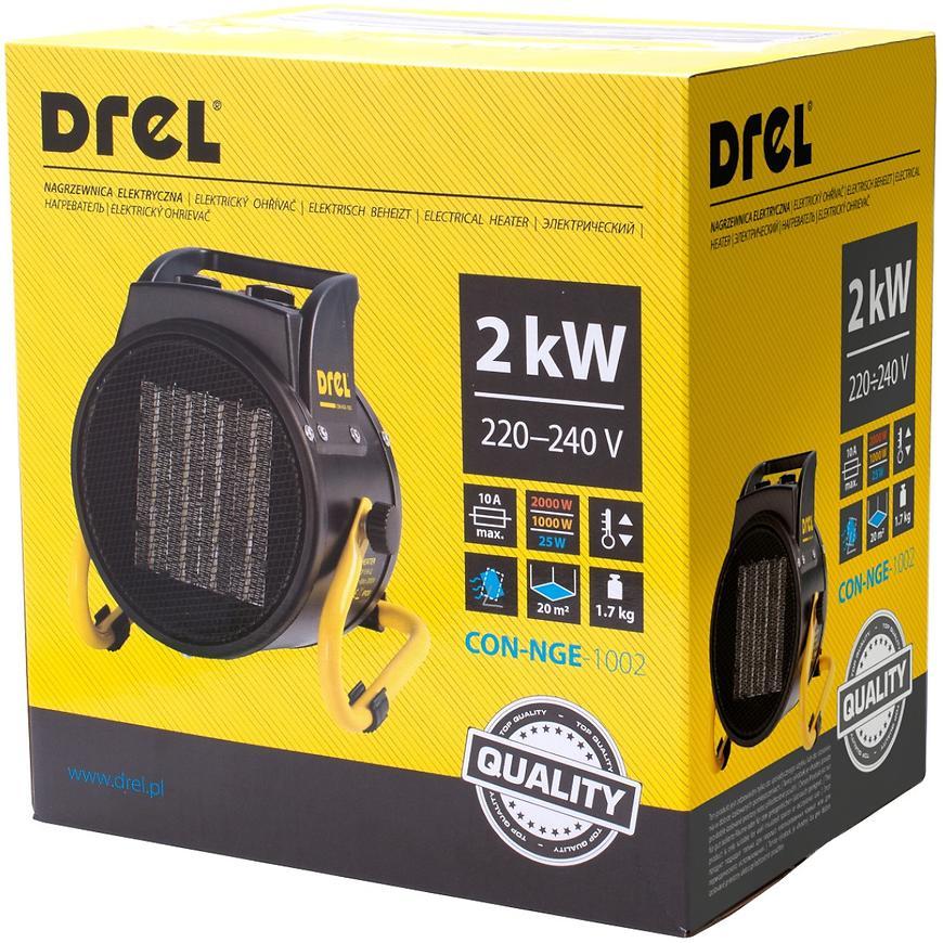 Elektrické topidlo Drel 2 KW/220 V