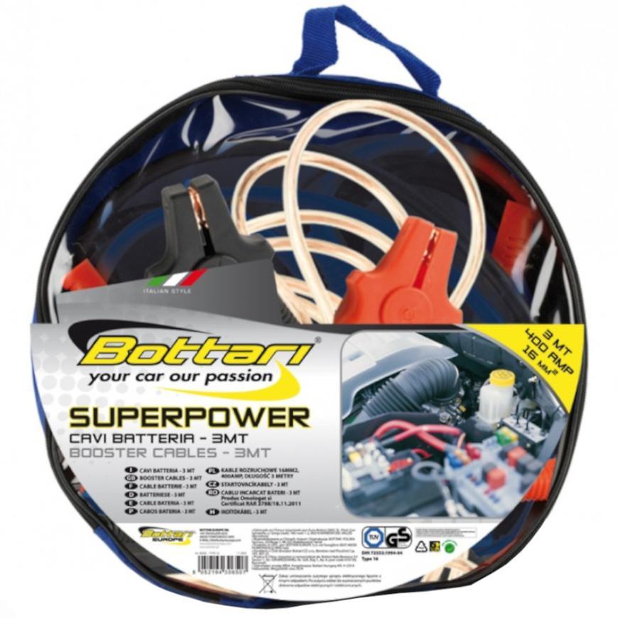 Kabely Startovací 400A Superpower 300cm
