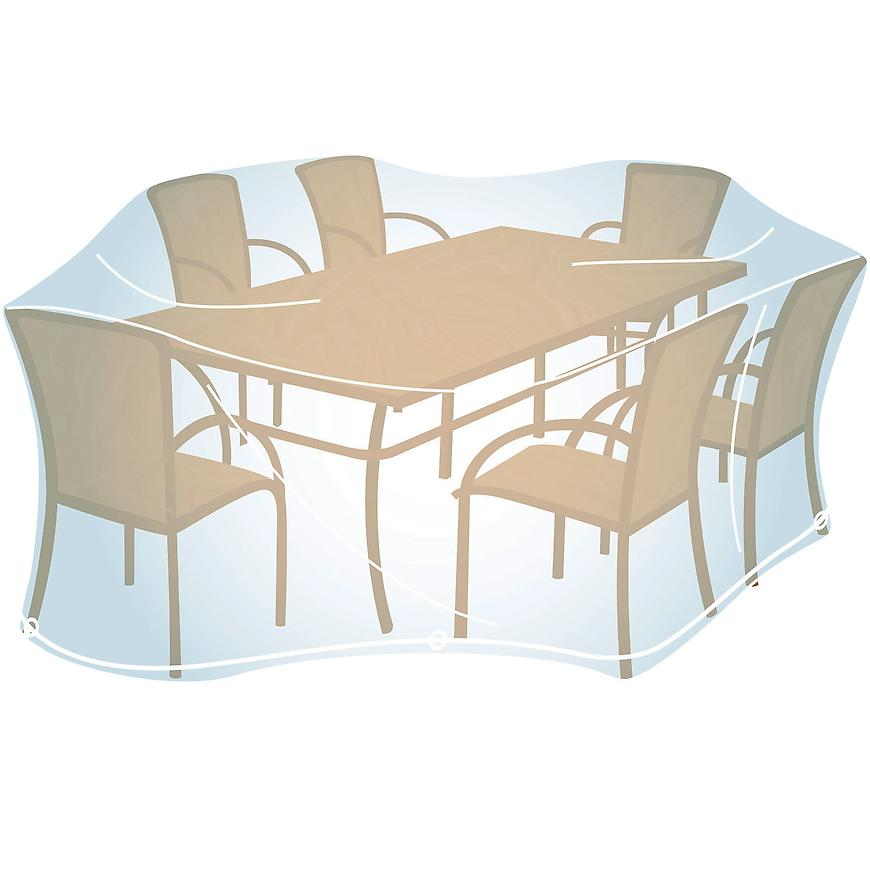 Ochranný obal na nábytek Rectangular L