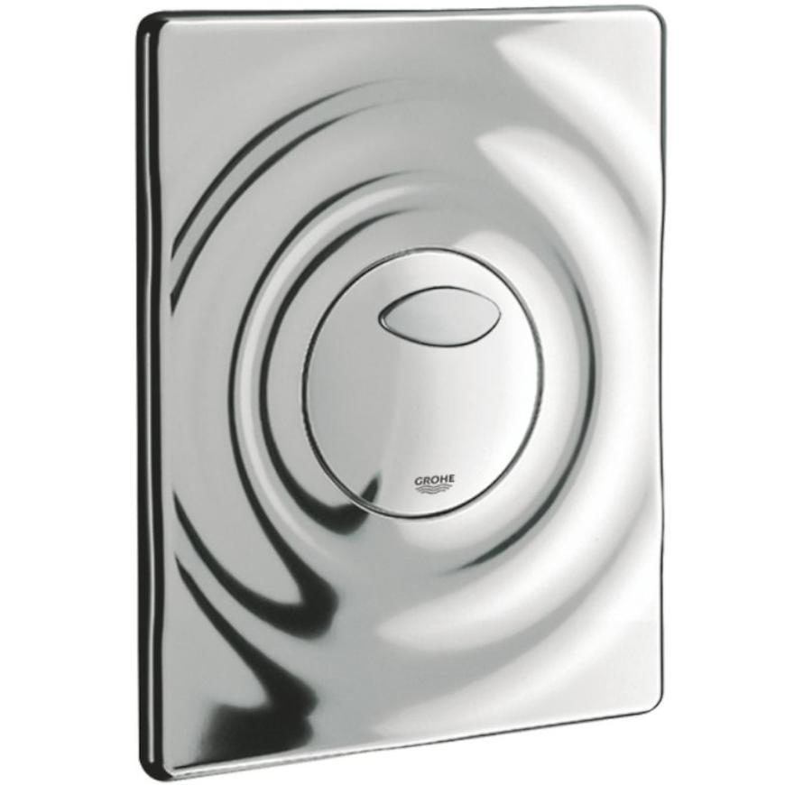 Splachovací tlačítko na zeď WAVE