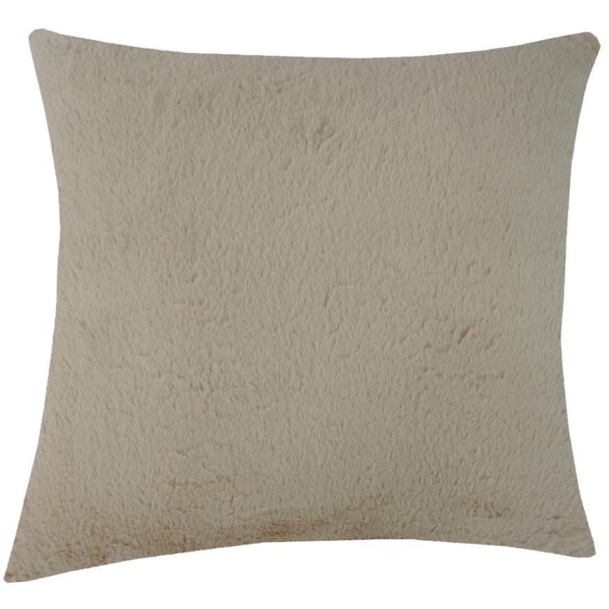 Dekorační polštář, 45x45 cm, béžový