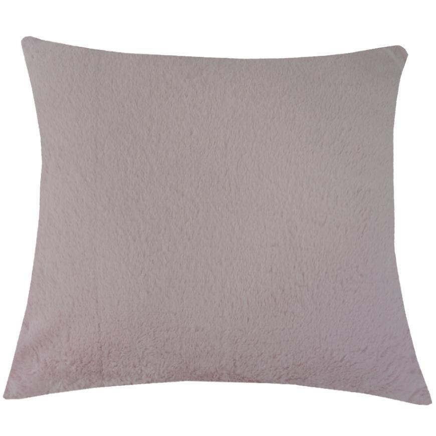 Dekorační polštář, 45x45 cm, růžový