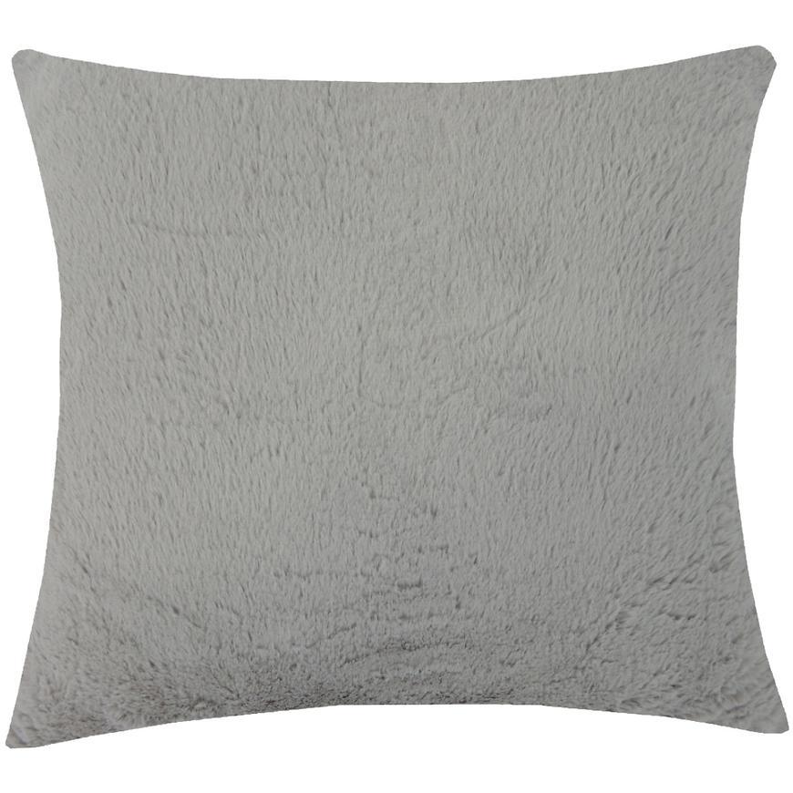 Dekorační polštář, 45x45 cm, šedý