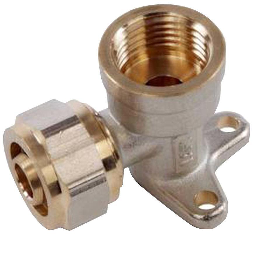 Koleno s úchytkou PEX 20 X 1/2 GW -SS