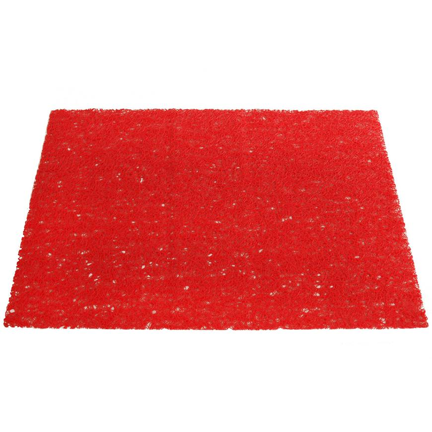 Prostírání PVC, 45x30 cm, červené