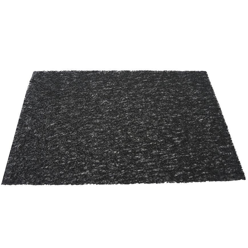 Prostírání PVC, 45x30 cm, černé