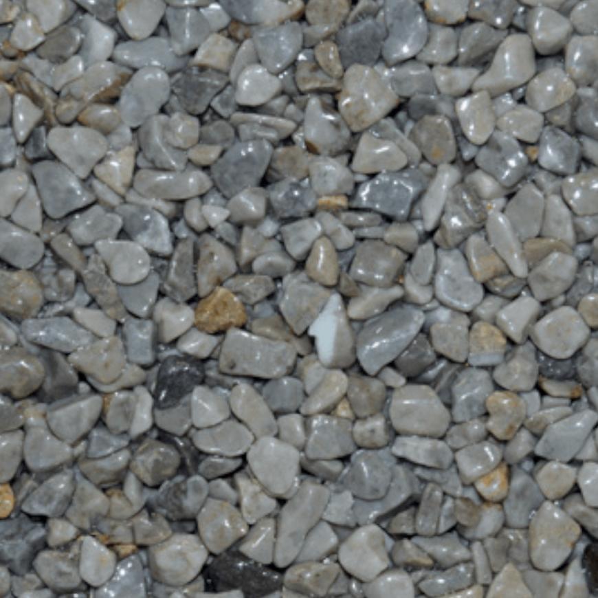Mramorové kamínky tmavě šedý 3-6mm