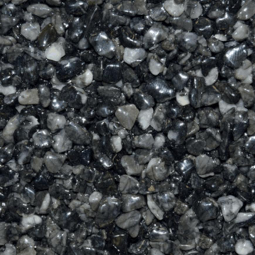 Mramorové kamínky černý 3-6mm