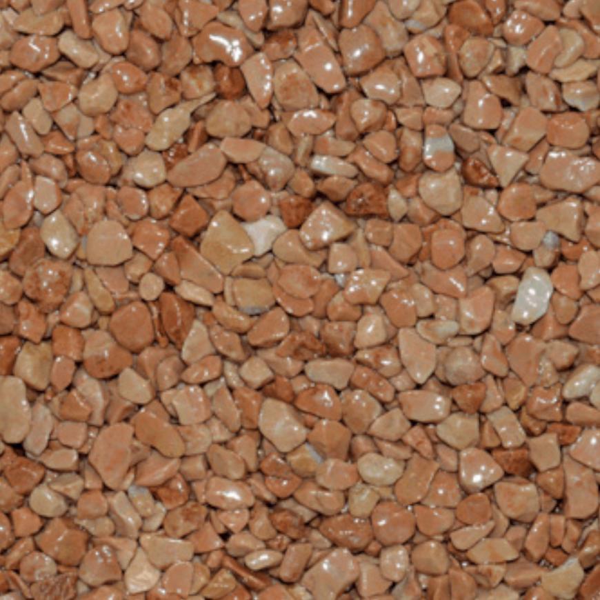Mramorové kamínky cihlově červený 3-6mm