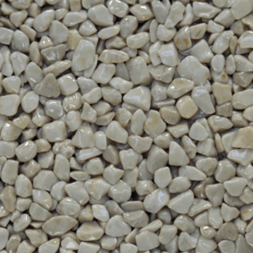 Mramorové kamínky slonová kost 3-6mm