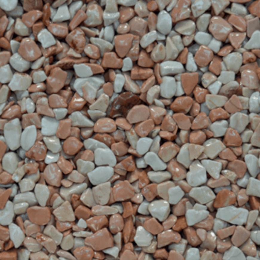 Mramorové kamínky růžová 3-6mm