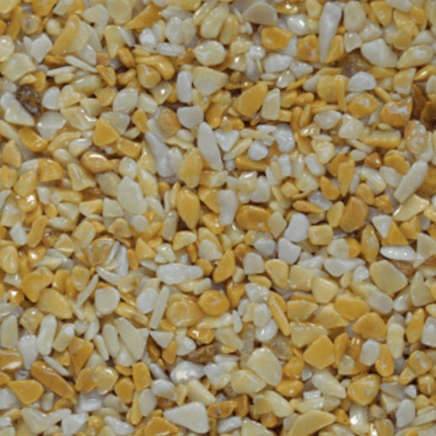 Mramorové kamínky žlutá 3-6mm