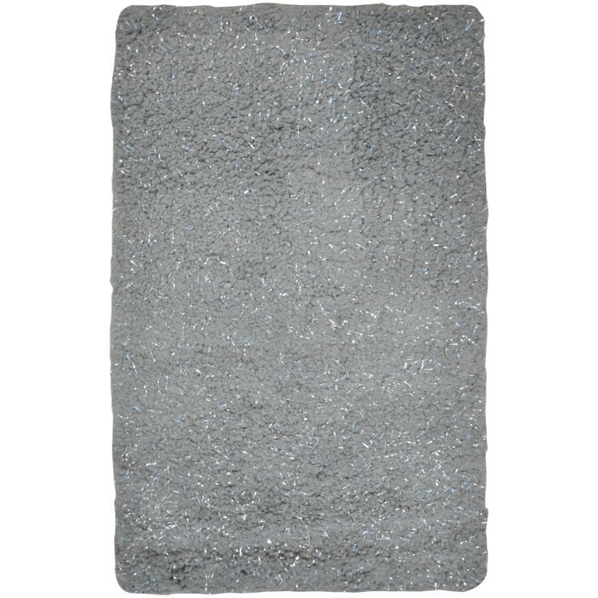 Kobereček Rockport grey with lurex 50x80