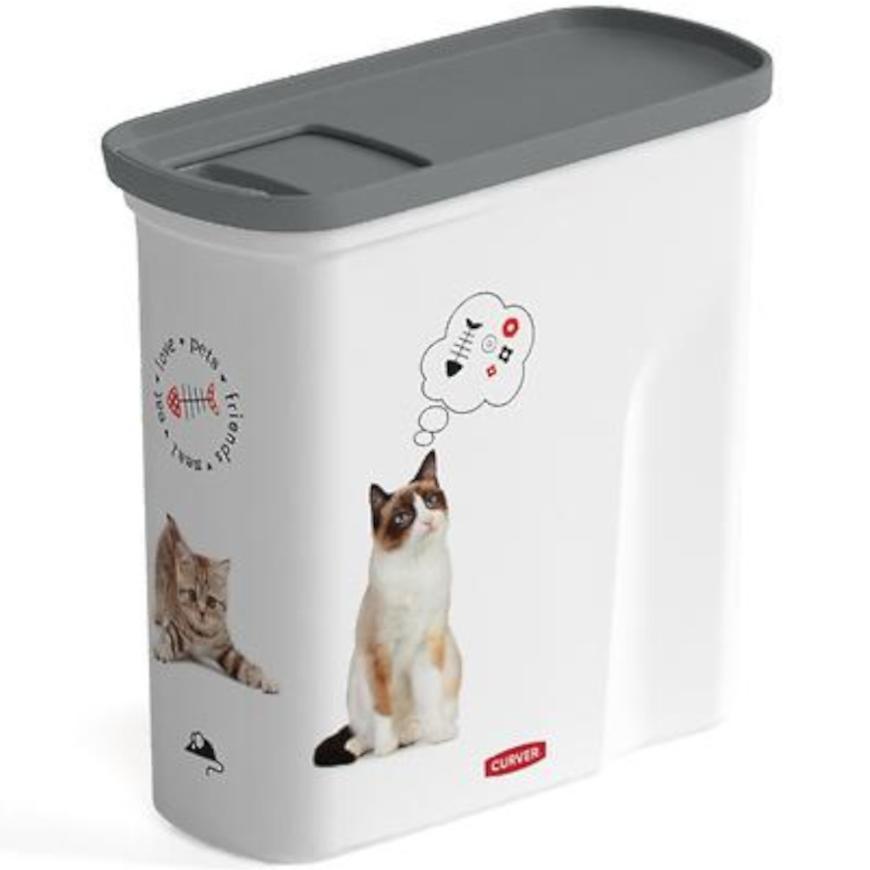 Kontejner na krmivo kočky 2 litr