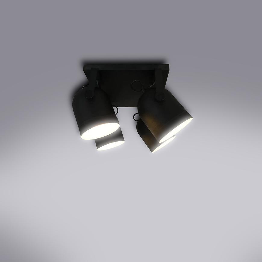 Svitidlo Spectra black 2612 LS4