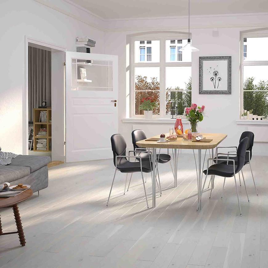 Dřevěná podlaha dub various cream 14x130x1092