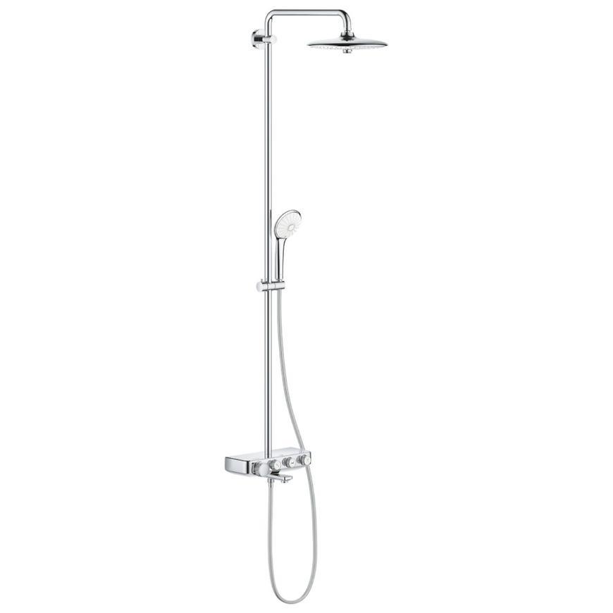 Sprchový systém s vanovým termostatem EUPHORIA SMARTCONTROL SYSTEM 260 MONO 26510000