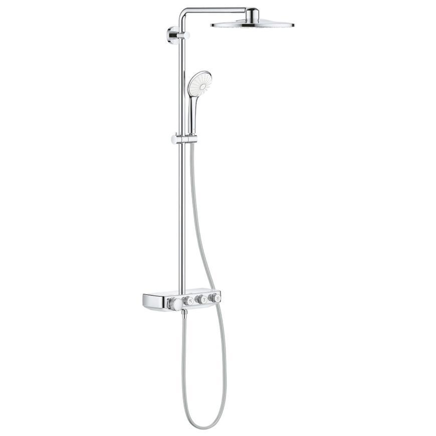 Sprchový systém s vanovým termostatem EUPHORIA SMARTCONTROL SYSTEM 310 DUO 26507000