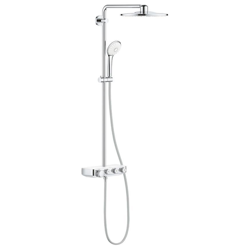 Sprchový systém s vanovým termostatem EUPHORIA SMARTCONTROL SYSTEM 310 DUO 26507LS0