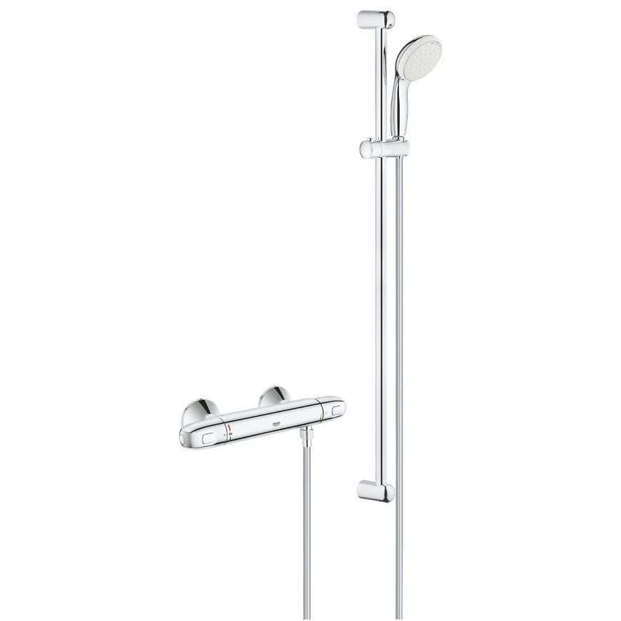 Sprchový systém s termostatem GROHTHERM 1000 34256004