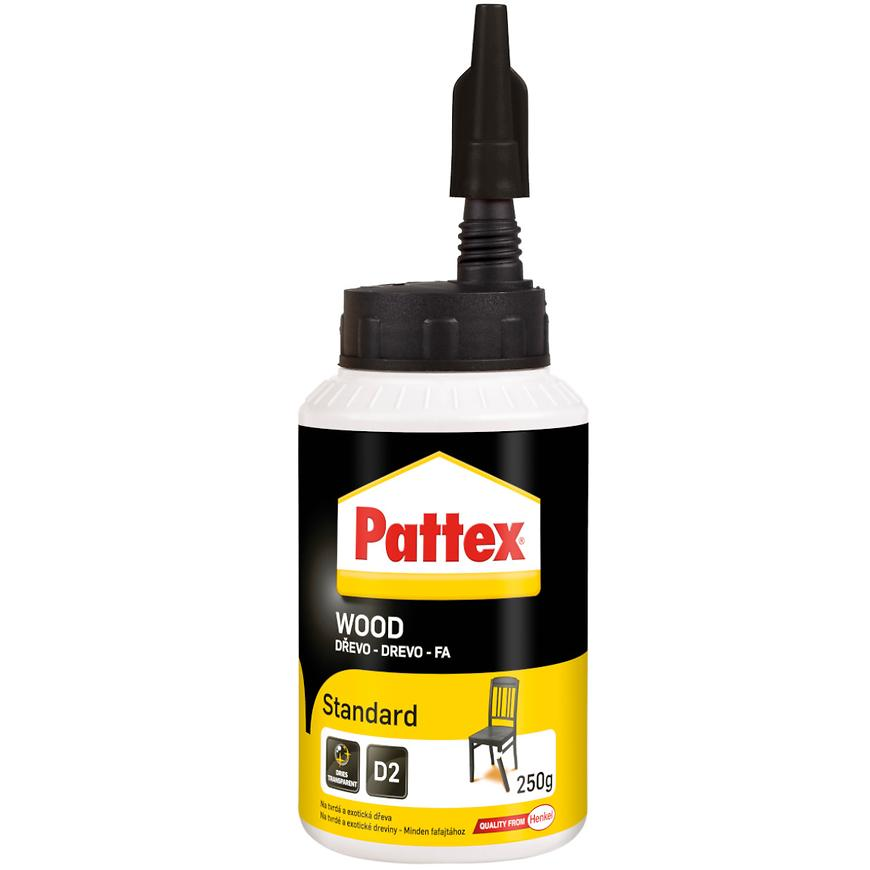 Disperzní lepidlo Pattex Wood Standard, 250 g