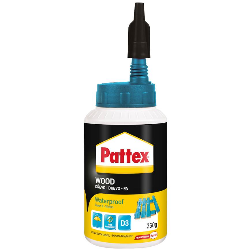 Disperzní lepidlo Pattex Wood Super 3, 250 g