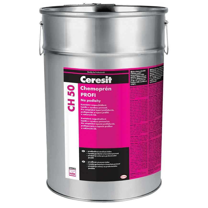 Lepidlo Ceresit Chemoprén na podlahu, 4,5 l