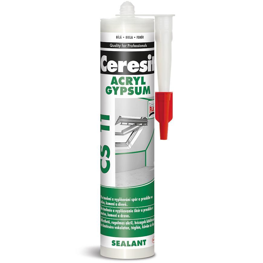 Akrylový tmel Ceresit CS 11 bílý 300 ml