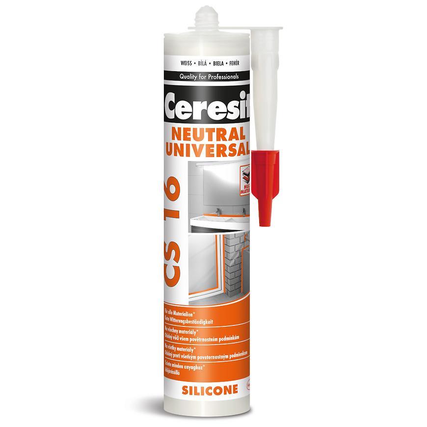 Neutrální silikon Ceresit CS 16,bílý, 300 ml