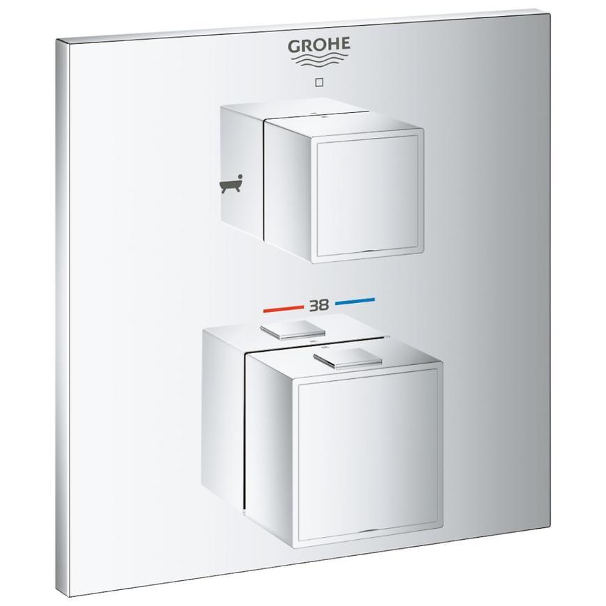 Baterie sprchová/vanová termostatická podomítková GROHTHERM CUBE 24155000