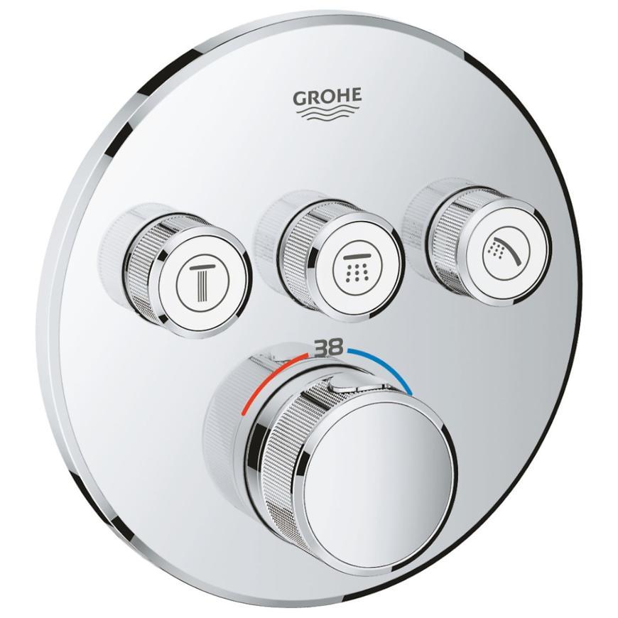 Baterie sprchová/vanová termostatická podomítková GROHTHERM SMARTCONTROL 29121000