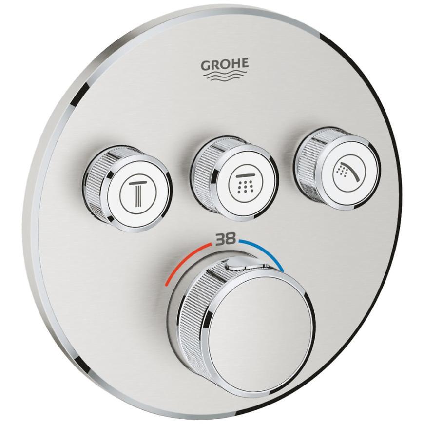 Baterie sprchová/vanová termostatická podomítková GROHTHERM SMARTCONTROL 29121DC0