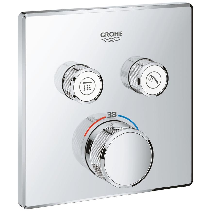 Baterie sprchová/vanová termostatická podomítková GROHTHERM SMARTCONTROL 29124000