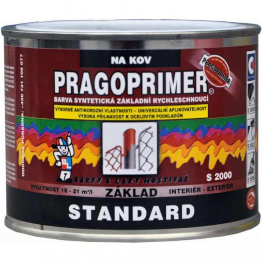 Levně Pragoprimer Standard 0110 šedý 0,35l