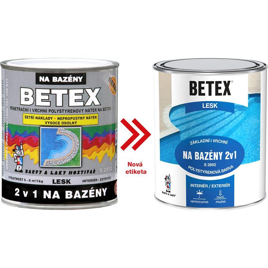 Betex na bazen 440 modrý 1kg