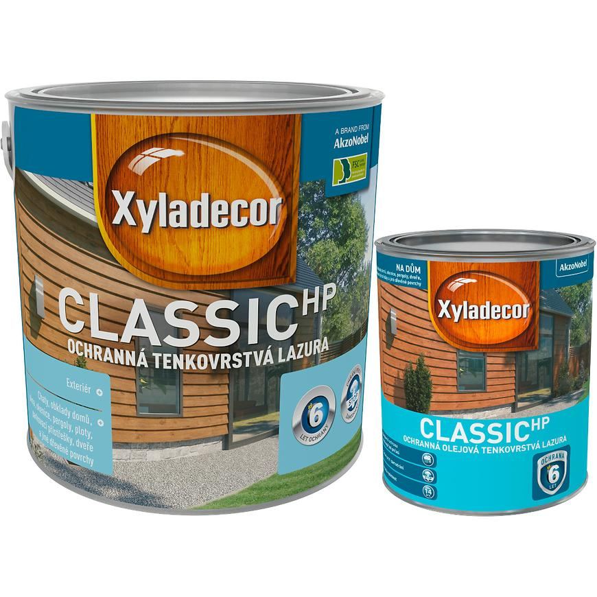 SET Xyladecor Classic ořech 2,5L 0,75L